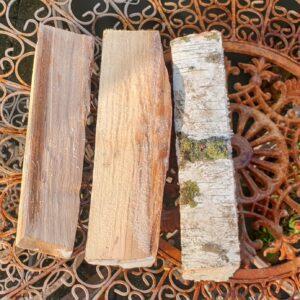 lepel billets in vers hout